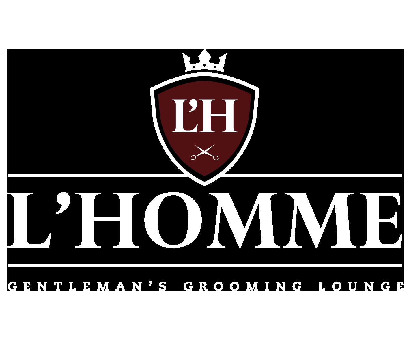 L'HOMME GENTLEMAN'S GROOMING LOUNGE | BARBERS Logo